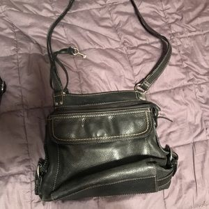 Fossil purse with long strap
